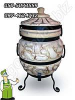 Тандыр исполнение № 1 (керамическая восточная садовая печь) 80 см.