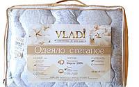 Стеганое одеяло Vladi 100% шерсть Бязь (170х210)