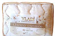 Стеганое одеяло Vladi 100% шерсть Бязь (200х220)