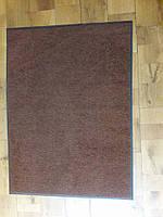 Грязезащитный ковер 75х100 светло коричневый