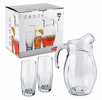 97874* Набор - кувшин 1600 мл +6 стаканов 315 мл Данс