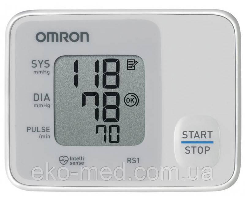 Автоматичний тонометр Omron RS1 на зап'ясті