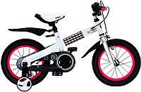 """Велосипед 2-х колесный  RoyalBaby Buttons Steel 12"""" розовый"""