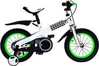 """Велосипед 2-х колесный  RoyalBaby Buttons Steel 12"""" зеленый"""
