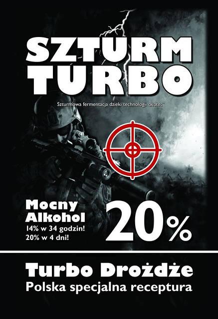 Дрожжи Szturm Turbo