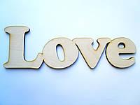 Слова из дерева Love