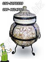 Тандыр исполнение № 3 (керамическая восточная садовая печь) 85 см.