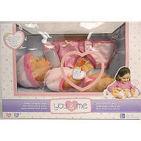 Интерактивная кукла You & Me Diaper Doll