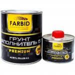 Farbid premium грунт-наполнитель серый 0,8л+отвердитель 0,16л
