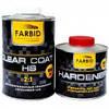 Farbid premium Лак акриловый прозрачный HS 1л без отвердителя