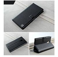 Чехол Meizu MX4 книжка Flower Ultrathin черный