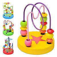 Деревянная игрушка «Лабиринт на проволоке» MD 0489
