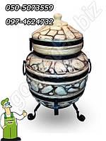 Тандыр исполнение № 5 (керамическая восточная садовая печь) 95 см.