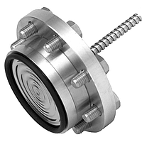 Мембранный разделитель с фланцевым присоединением к процессу  990.15 блок-фланец или седловидный фланец