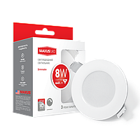 Светодиодный диммируемый точечный светильник MAXUS LED SDL mini 8W 4100K (1-SDL-006-01-D)