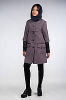 Пальто демисезонное для девочки подростка, размеры 34, 36, 38. (арт.К-115)