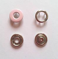 Кнопка 10,5 мм - № 133 бледно-розовая бублик