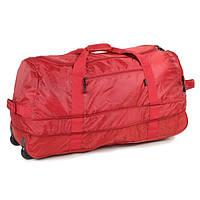 Сумка дорожная Members Foldaway Wheelbag 105/123 Red, фото 1