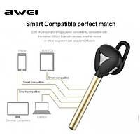 Bluetooth Гарнитура Awei A830BL золотой