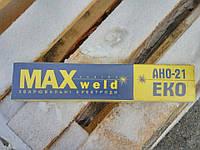 Электроды MAXweld АНО-21 ЭКО 4мм 5кг