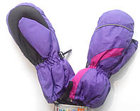 Варежки рукавицы рукавички теплые детские Lupilu на флисе размер 4,5