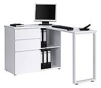 Письменный компьютерный стол из массива дерева 106