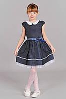 Симпатичное детское платье в горошек