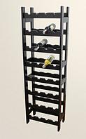 Стелаж для вина 56,4*48*151см, Ольха