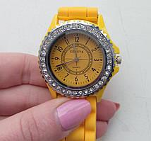 Годинник GENEVA жовтий