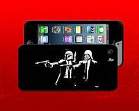 Чехол для iPhone 4 и 5 5G Криминальное Чтиво и Звездные Войны Star Wars