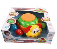 Детская музыкальная игрушка развивающая «Жук» 7259 Joy Toy, со светом и звуком, на батарейках