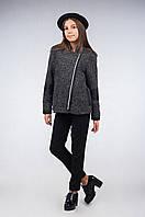 Полупальто-куртка для девочки демисезонная, размеры 34, 36, 38, 40. (арт.К-109)