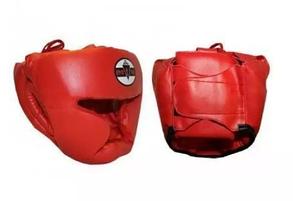 Шлем бокс закрытый MATSA кожан. ME 0147