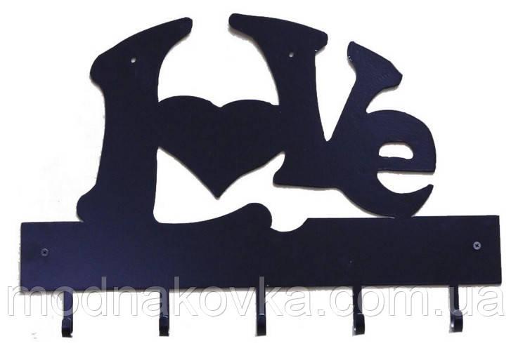 Вешалка-ключница Love