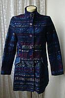 Пальто нарядное демисезонное Desigual р.48 7332а