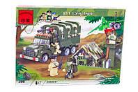 Конструктор Брик 811 «Военный грузовик» серия Combat Zones, 308 деталей, 7 фигурок, 6+