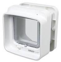 Trixie  TX-38540 двухсторонняя дверца-автомат для кота  SureFlap  21х21см,белый
