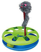 Trixie  TX-4135  игрушка для кота трек с мышкой  24-29см