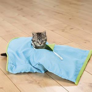 Trixie  TX-43133 игровой мешок для кота (такнь/плюш) 50х38см
