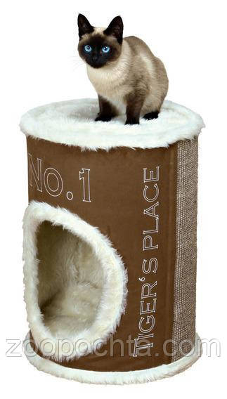Trixie  TX-44700 Когтеточка,дряпка  Домик-башня для кошки Adamo 54см