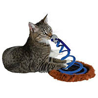 Trixie  TX-4568 Игрушка для кошки  Мышь на пружине , ф 20 х 25 см