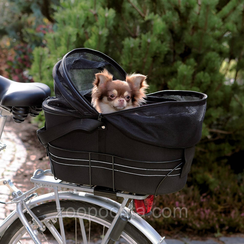 Trixie Bicycle Bag TX-13118 велосипедна сумка для собак (29 × 42 × 48 см,до 8кг)