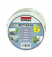 Лента бутиловая Soudal Butyband 10cm*1,5 alu L=10m Soudal
