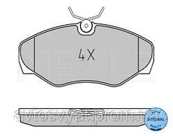 Колодки тормозные (передние) Renault Trafic/Opel Vivaro 01-