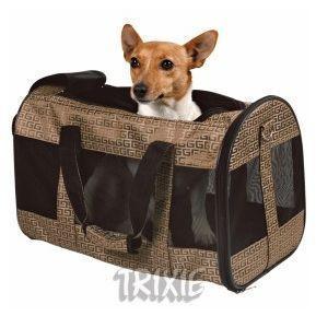 Trixie TX-28882 сумка-переноска Malinda для кошек и собак до 11кг (27 × 30 × 50 cm)
