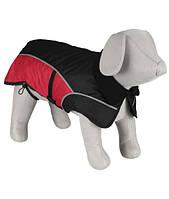 Trixie TX-30256 куртка зимняя Avallon 55см,чёрный/красный