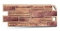 Фасадная панель (1,140 х 0,480м) Камень кварцит Альта-Профиль