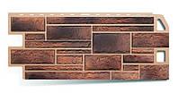 Фасадная панель (1,140 х 0,480м) Камень сланец Альта-Профиль