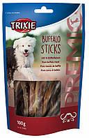 Trixie TX-31402 PREMIO Buffalo Sticks 100гр - лакомство для собак из мяса буйвола
