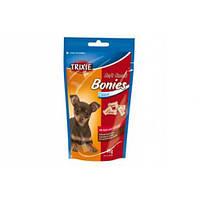 Trixie TX-31491 Soft Snack Bonies 75г-лакомство для собак со вкусом говядины и птицы